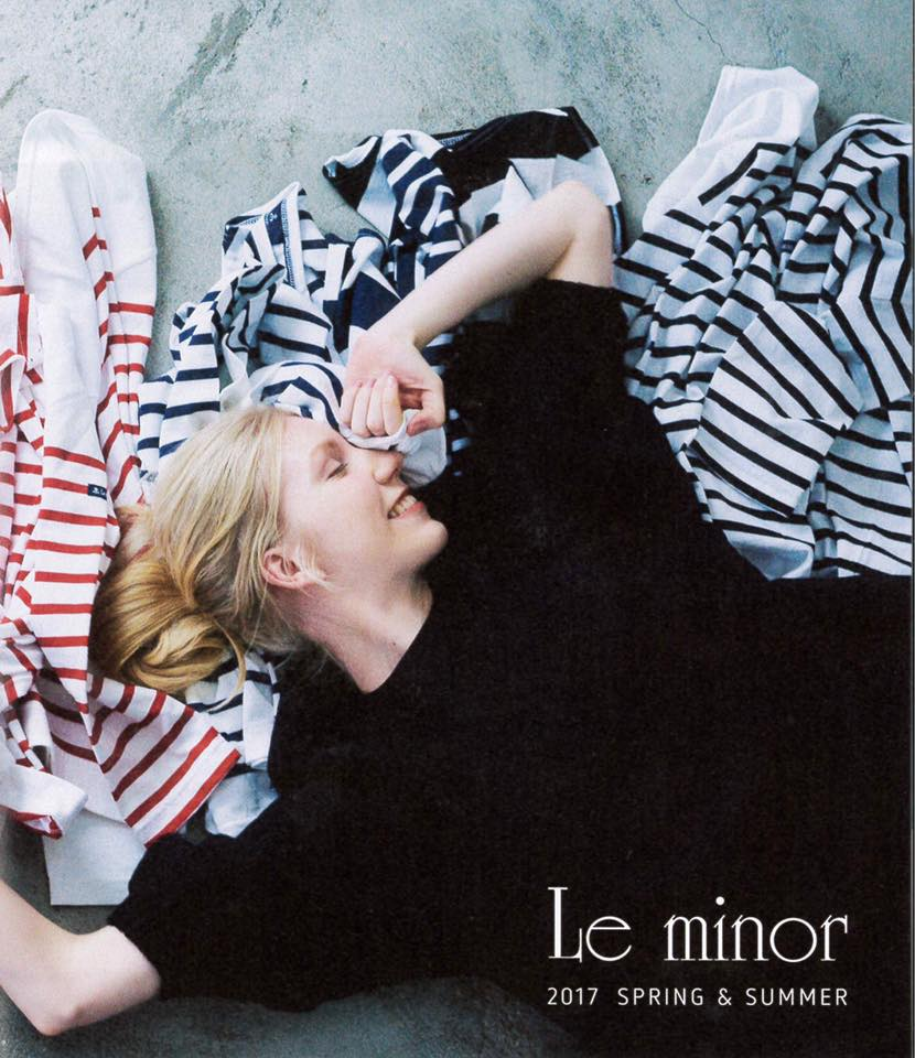 Le minor 2017Spring&Summer カタログ
