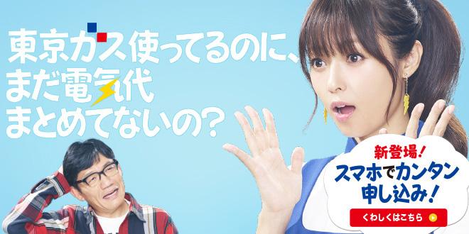 東京ガス『スマホでカンタン申し込み!』