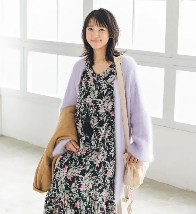 pre-mo 2021年春号 中ページ 【冬〜春の着こなし妊婦SNAP】