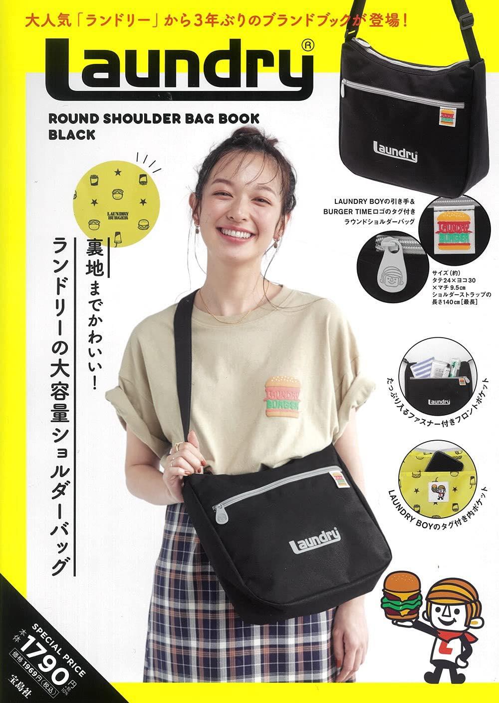 Laundry ROUND SHOULDER BAG BOOK